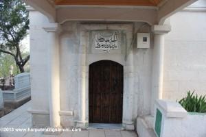 İmam Efendi Hazretlerinin türbesinin kapısı