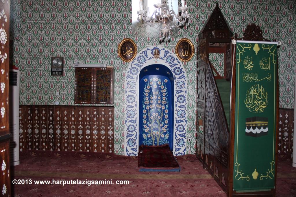 Server-i Kâinat Efendimizinde manen teşrif ettikleri Sâminî hazretlerinin yaptırdığı camii. Paluda evlerinin yanındadır.